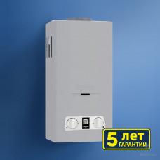 Газовый водонагреватель BaltGaz Classic 10 цвет – серебро