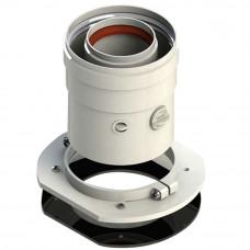 Адаптер вертикальный коакс. 60/100 (кроме Navien,Immergas) Sibio(V-U01)