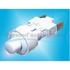 Кнопка подсветки GEFEST ПКН-525.2-111 (белая)