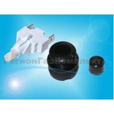 Кнопка подсветки GEFEST ПКН-525.2-222 (черная)